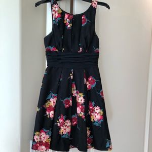Tracy Reese floral fit and flare dress